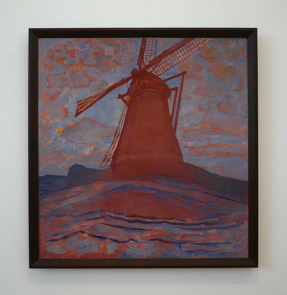Piet Mondrian, Windmill, 1917