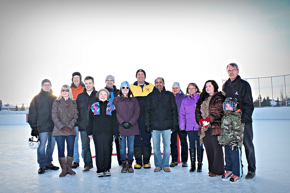 Twin Brooks Ice Rink Grand Opening (February 2013)