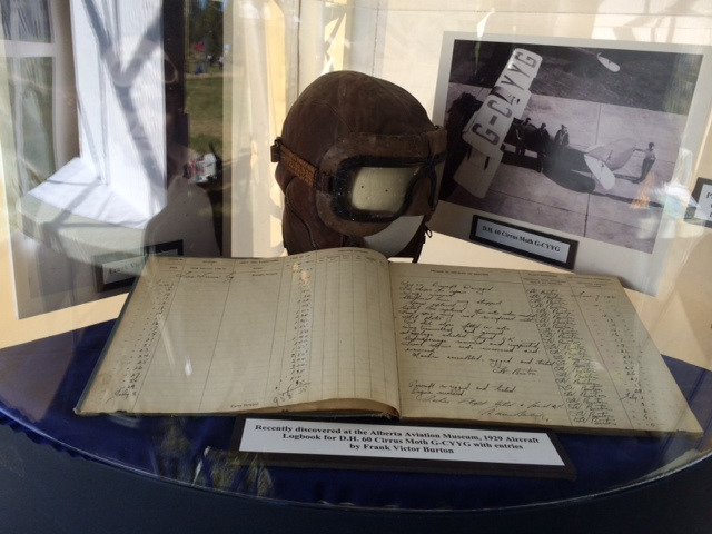 Hat and log book at the grand opening celebration September 14, 2014.