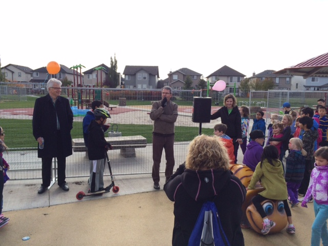 South Terwillegar Playground Grand Opening