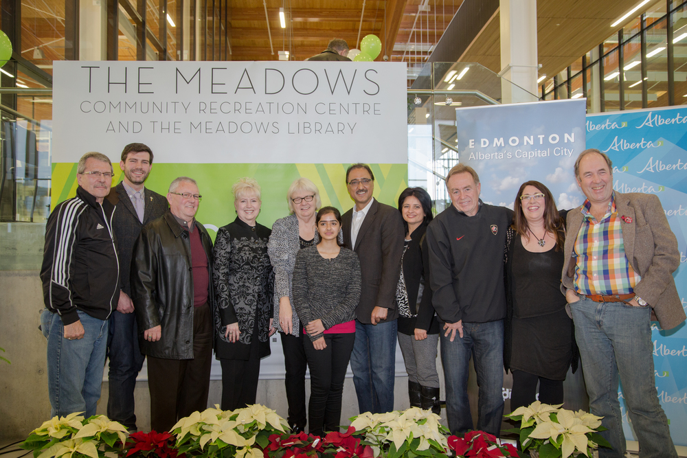 The Meadows Grand Opening December 6,2014.