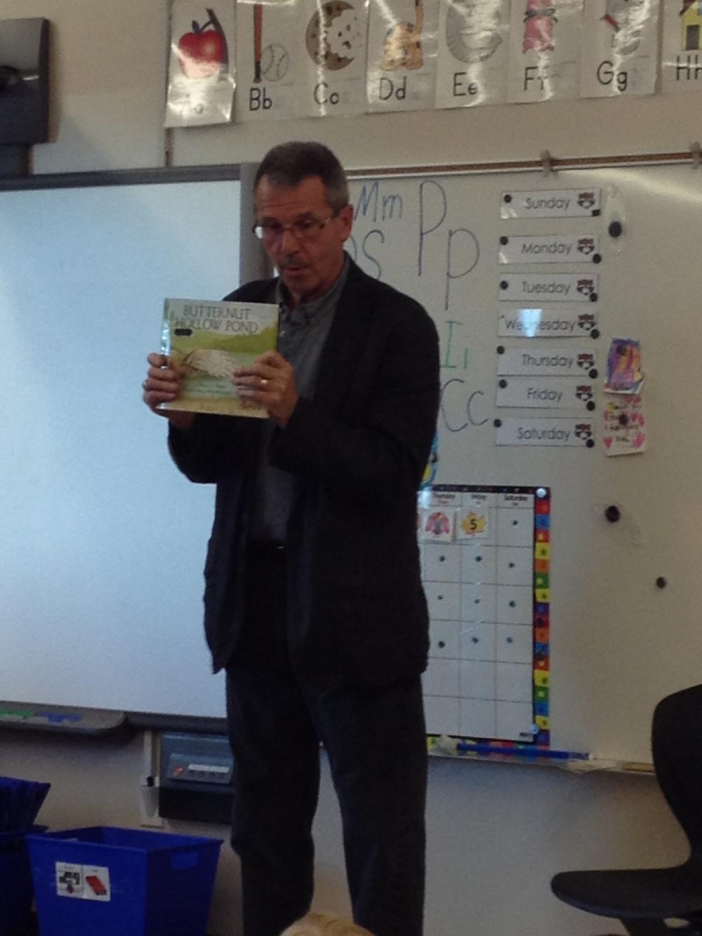 Read in Week - 2012 - At Esther Starkman School.