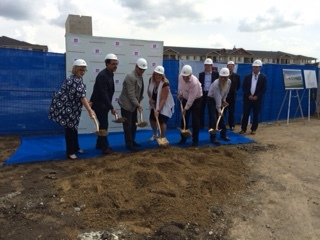 July 14 Mactaggart Place All Seniors Care Groundbreaking event.