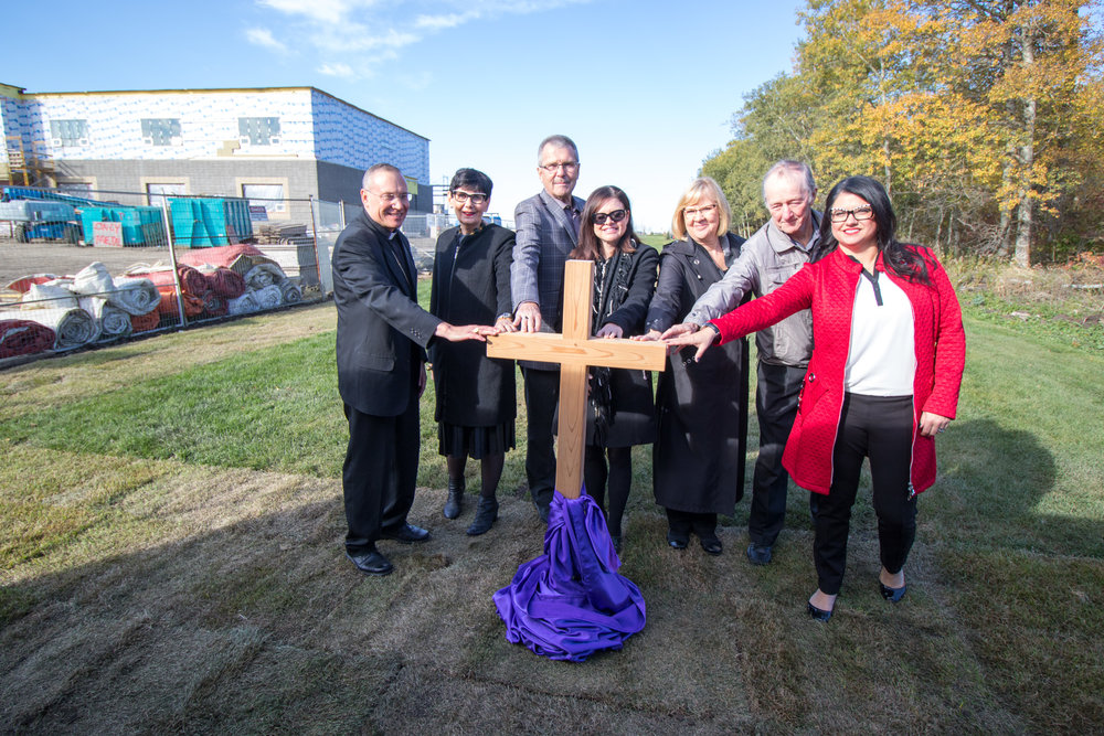 Site Blessing for St. Thomas Aquinas School (Sept 22 2016)