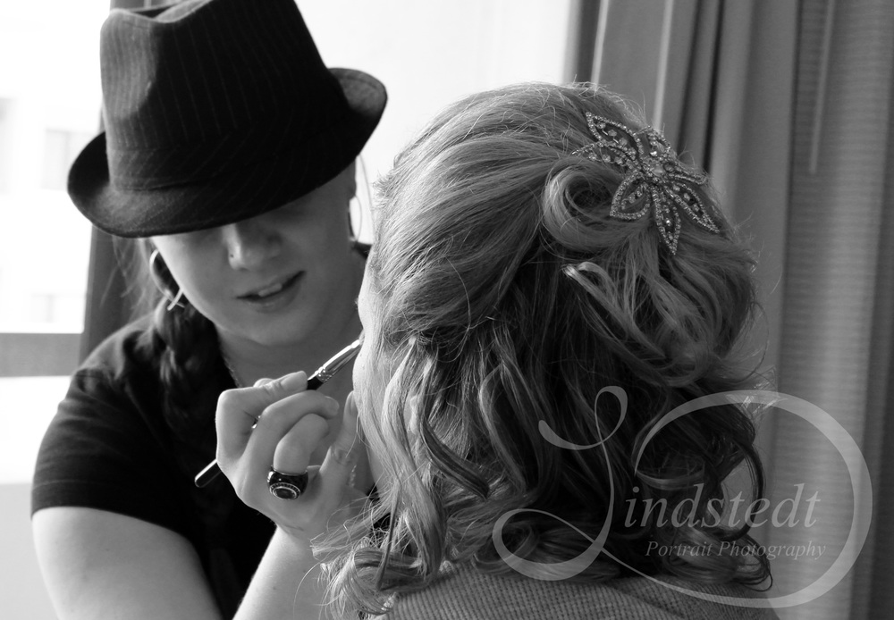 Bridal Hair & Makeup. WarPaint International.