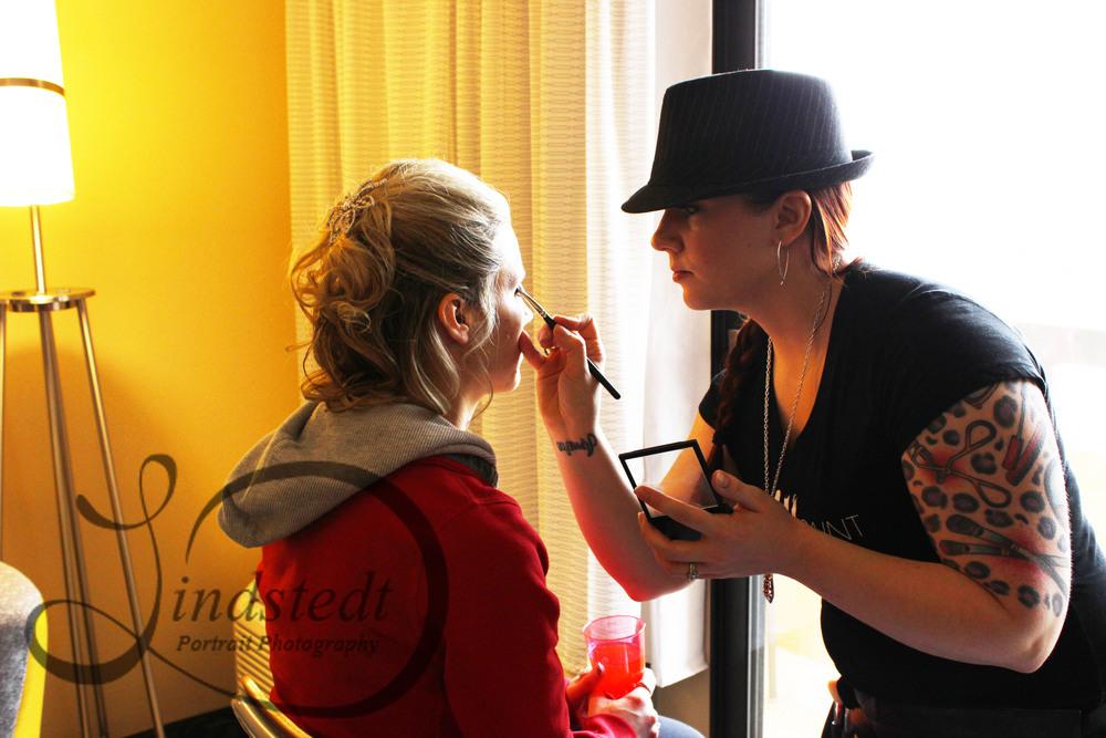 Wedding Day Makeup. Jessica Mae of WarPaint International.