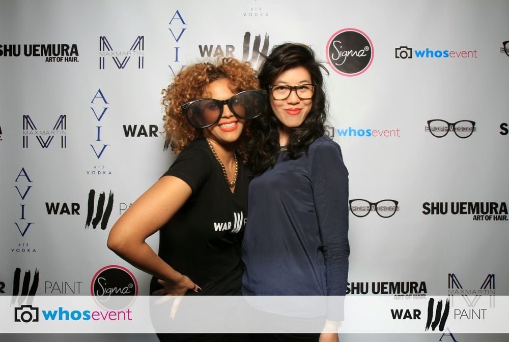 MTV's Nancy Hang with WarPaint Artisan Mirna.