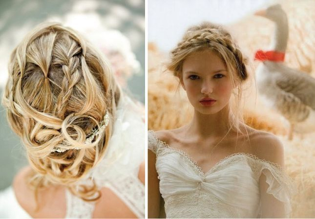 Wedding Hair Style: Harvest Knot