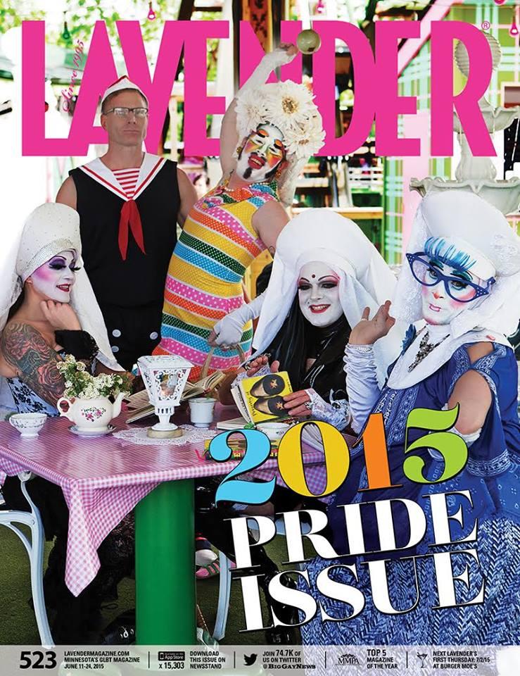 Lavender Magazine Pride 2015