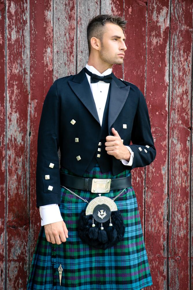 Celtic Wedding Hair & Makeup