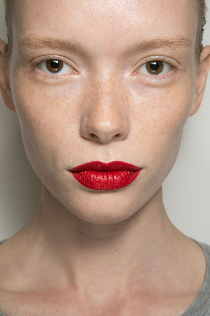 Jason Wu Red Lip SS 2015