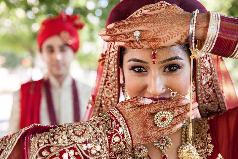 Indian Weddings Warpaint International Beauty Agency