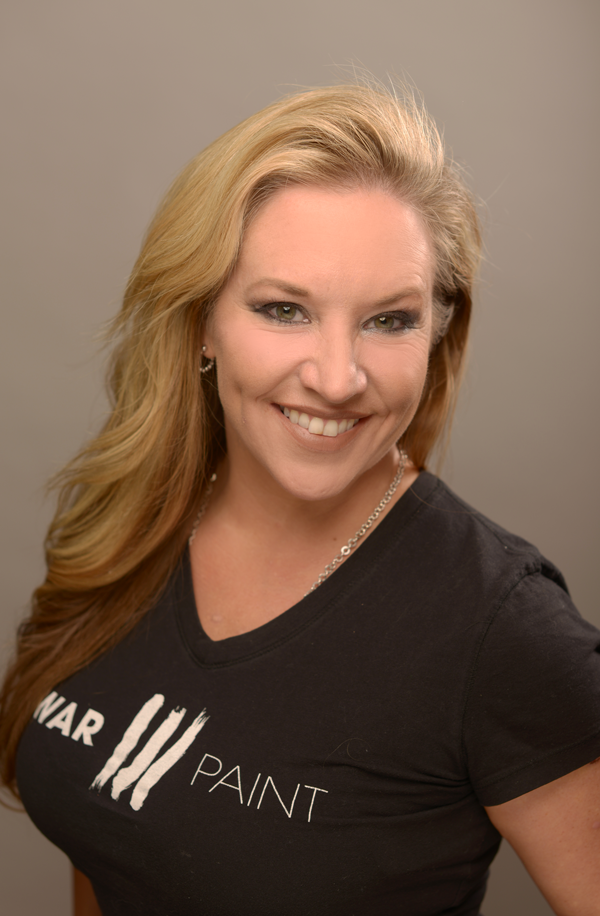 Jennifer Adler. Minneapolis Hair Stylist and Eyelash Extension specialist for WarPaint International Beauty Agency