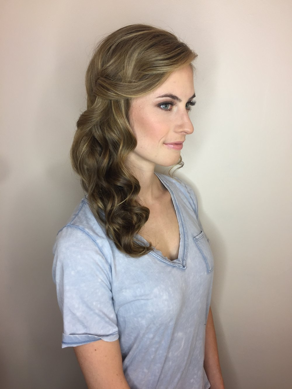Bridesmaid Makeup & Hair