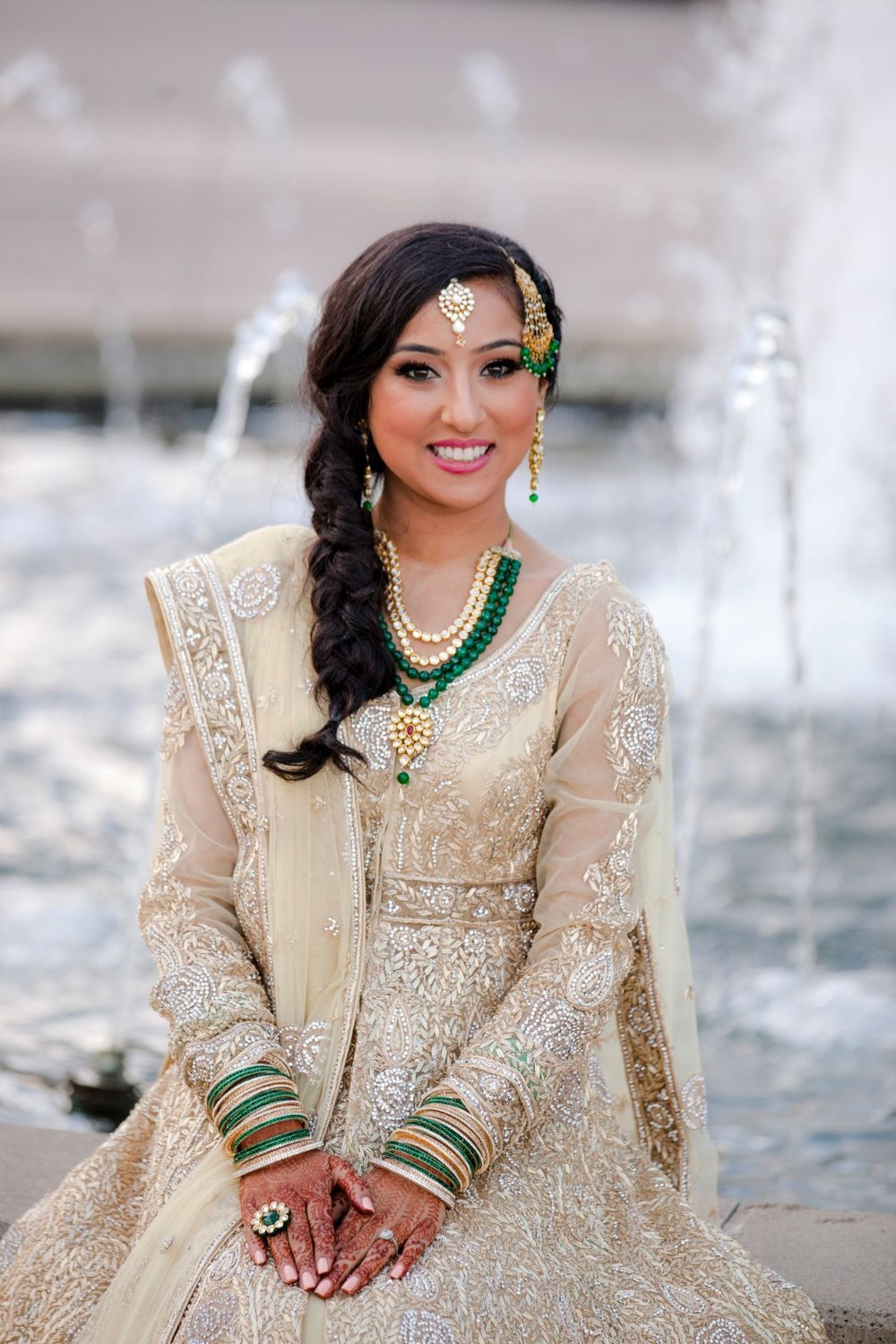 Indian Wedding Hair