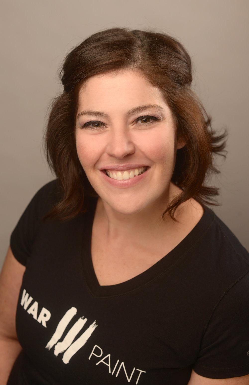 Heidi Hoff. Minneapolis Hair Stylist for WarPaint International Beauty Agency.