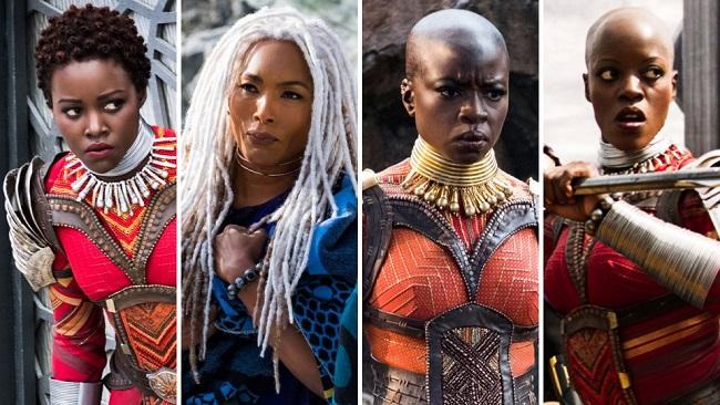 The Women of Wakanda. Image Source:  The News Minute