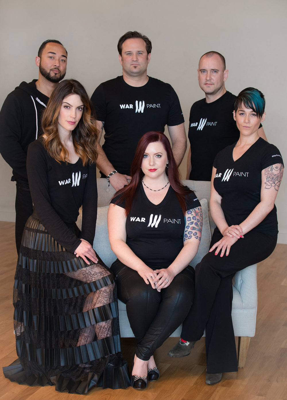 Photo: Amore Lux Studios. The Leadership Team at WarPaint International.