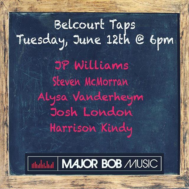 TONIGHT- 6pm Belcourt Taps!!