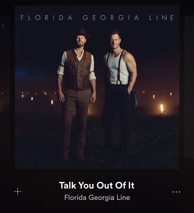 We'll have this one on repeat all weekend! #talkyououtofit is out! Cowritten by our own @alysavanderheym🙌🏼🙌🏼@floridageorgialine #NewMusicFriday