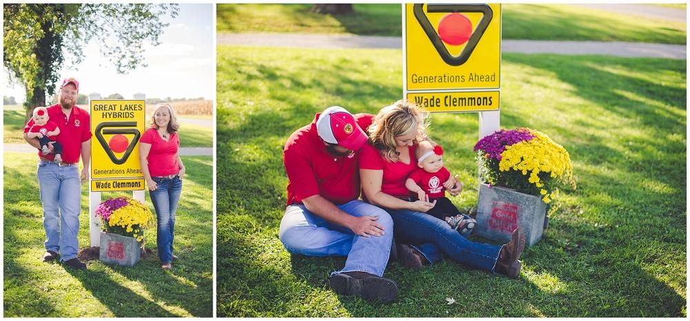 By Kara Photo-First Birthday Farm Photos-Family Farm Session-Watseka Illinois Photographer