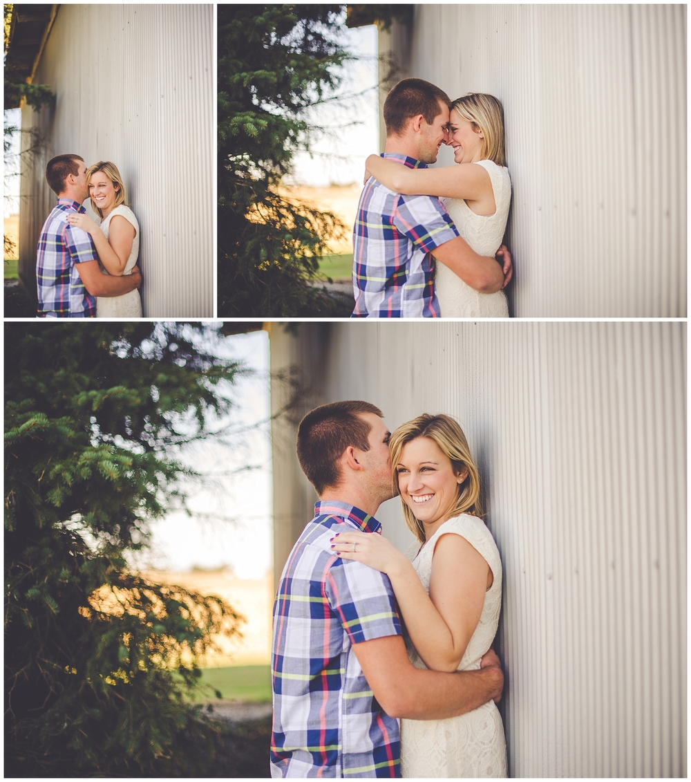 By Kara Photo-Engagement Photography-Central Illinois Wedding Photographer-Watseka Illinois Photographer-Farm Engagement