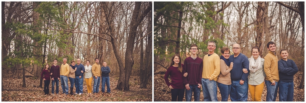 By Kara - Kara Evans - By Kara Photo - Family Photographer - Christmas Gift Family Photography Session - Extended Family Photographer - Watseka Illinois