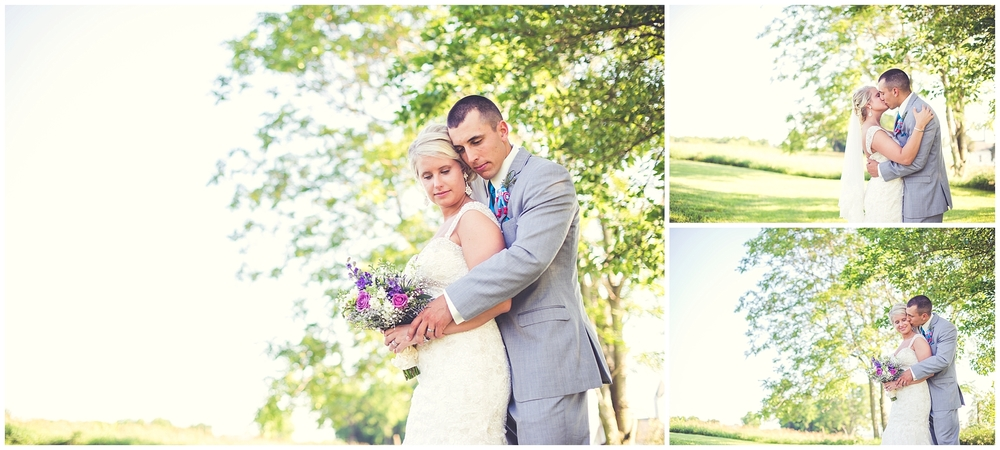 Danielle & Ross | June 20, 2015 | Jacksonville, Illinois | www.bykaraphoto.com/blog/danielle-ross-newly-wed-jacksonville-illinois