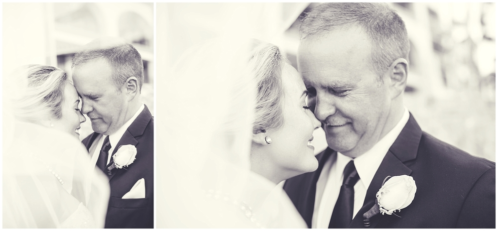 Deidre & Howard on their wedding day.