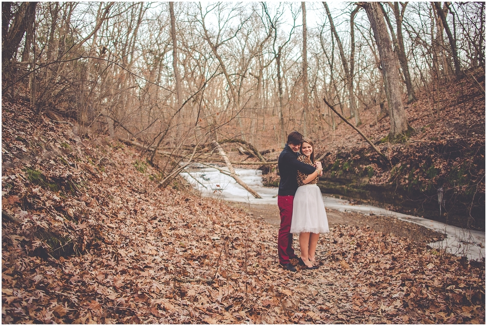 By Kara - Kara Evans - Starved Rock State Park Engagement Session - Winter Engagement Session - Engagement Photo Blogger