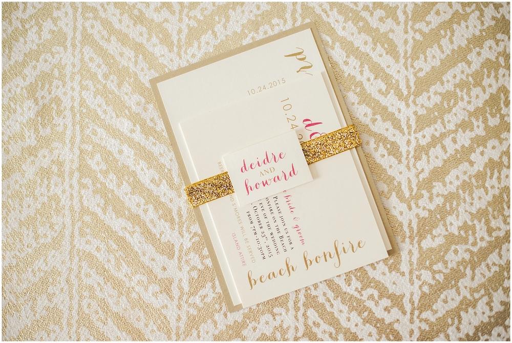 By Kara - Kara Evans - Pink & Gold Invitation Inspiration - Wedding Wednesday - Wedding Blogger