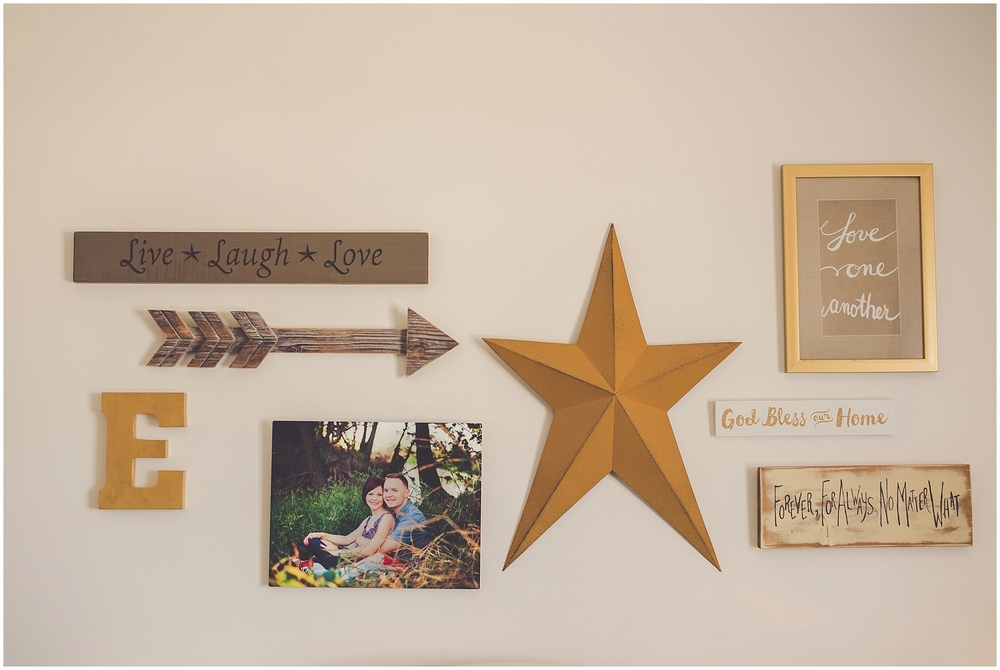 By Kara - Kara Evans - First Gallery Wall - Decor By Kara - Gallery Wall Inspiration - Decor Blogger