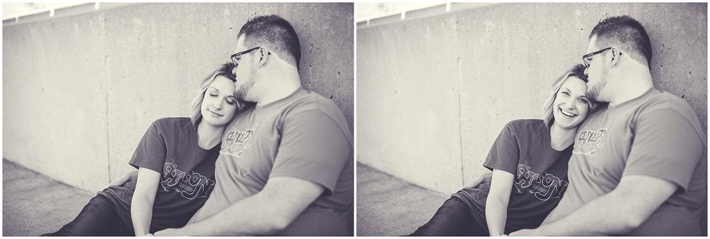 By Kara - Kara Evans - University of Illinois Engagement Session - Champaign Illinois Engagement Wedding Photographer - Theatre Engagement Photos