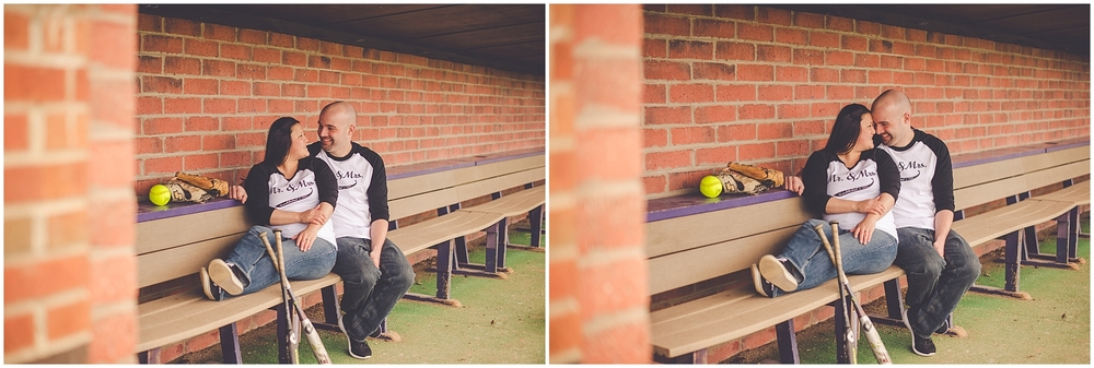 By Kara - Kara Evans - Bradley Bourbonnais Engagement and Wedding Photographer - Kankakee IL Photographer - Softball Engagement Session