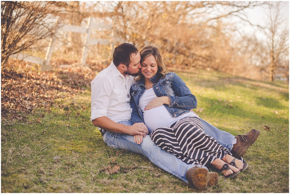 By Kara - Kara Evans - Central Illinois Maternity and Family Photographer - Loda Illinois Family Photographer - March Spring Maternity Session