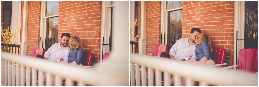By Kara - Kara Evans - Springfield Illinois Wedding Photographer - Springfield Illinois Session - Downtown Springfield Illinois Engagement - Coffee Shop Engagement Photos