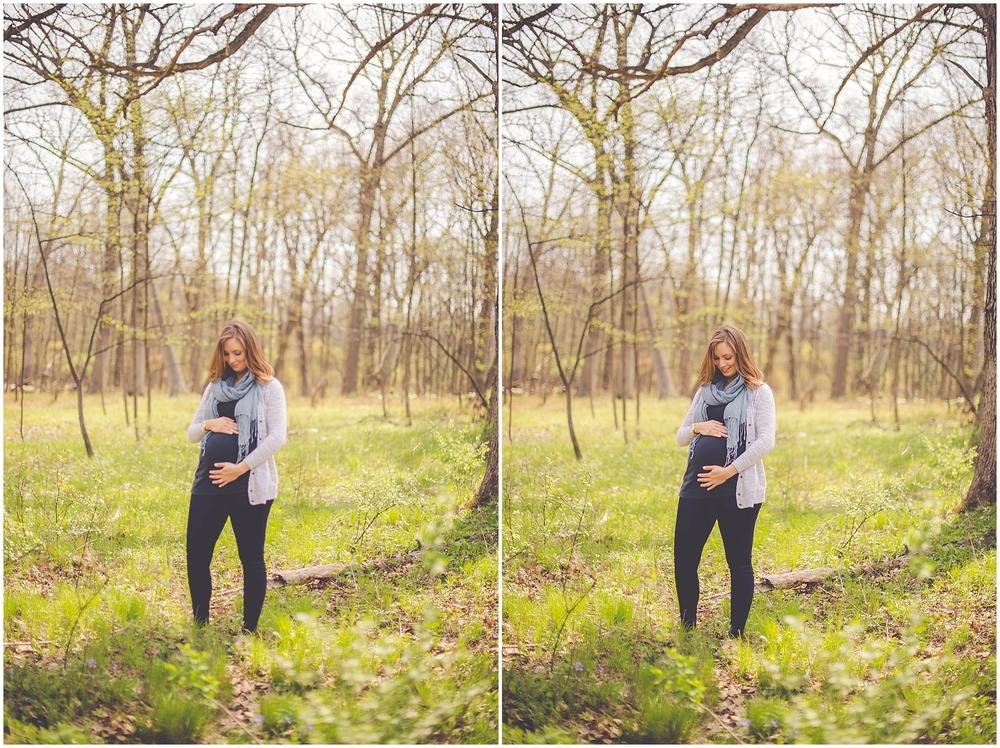 By Kara - Kara Evans - Naperville Illinois Maternity and Family Photographer - Naperville Illinois Family Photographer - Chicagoland Spring Maternity Session - Knoch Knolls Park