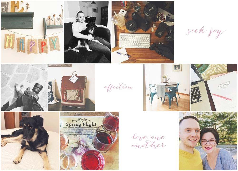 By Kara - Kara Evans - My Life Monday - My Life Monday Blogger - Lifestyle Photographer Blogger - April 2016 Recap - Instagram Photos