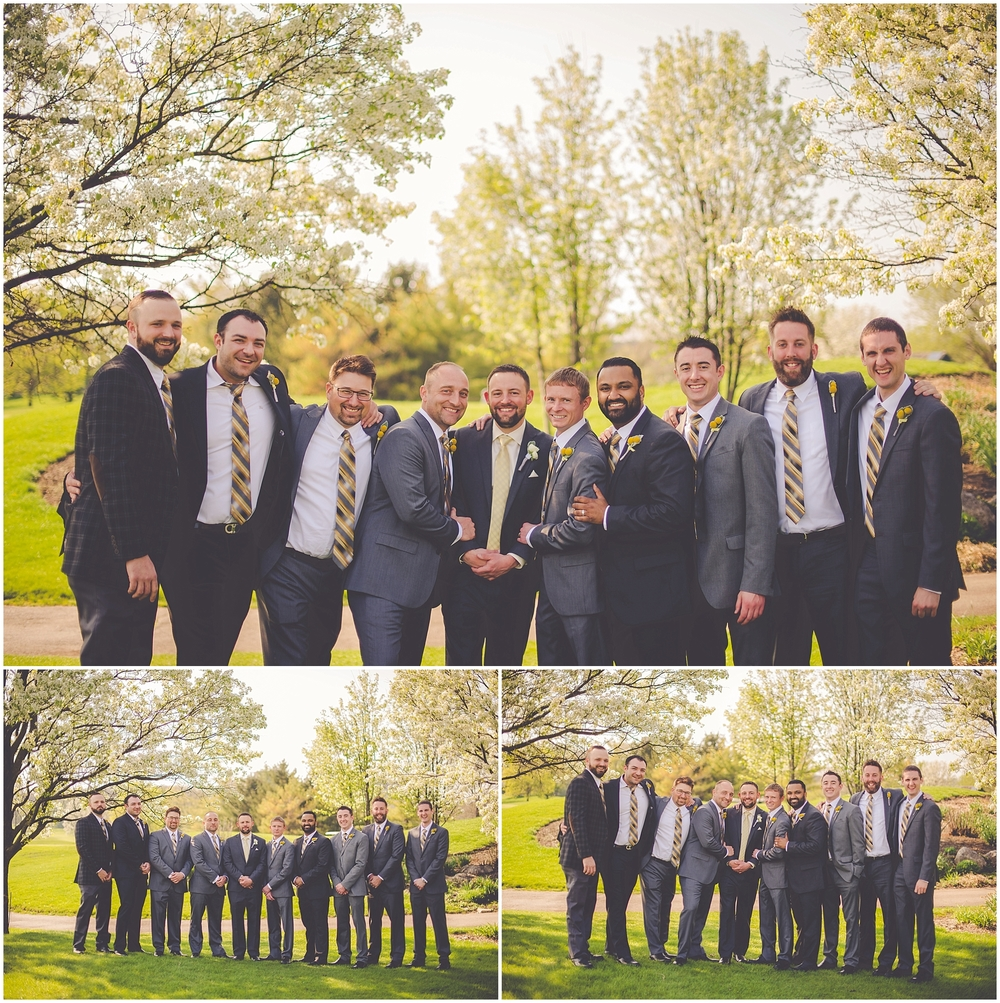 By Kara - Kara Evans - Chicagoland Wedding Photographer - Woodridge, Illinois Seven Bridges Golf Club Wedding | Spring Chicago Wedding