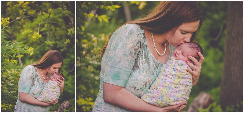 By Kara - Kara Evans - Milford Illinois Family Photographer - Outdoor Lifestyle Newborn Session - Lifestyle Family Newborn Session
