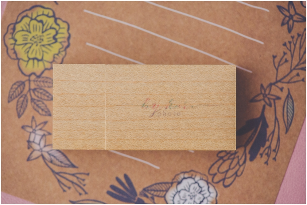 By Kara - Kara Evans - Custom Photographer USB Drives - Photographer USB - Wooden USB Drive - Branding By Kara - Photography Business Branding