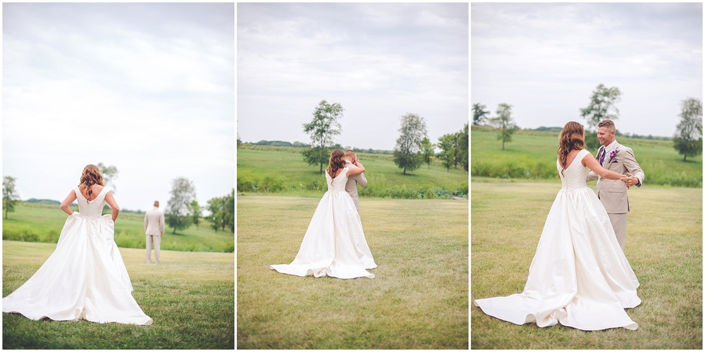 By Kara - Kara Evans - Chicago Wedding Photographer - Wedding Wednesday Blogger - The First Look from a Photographer's Perspective