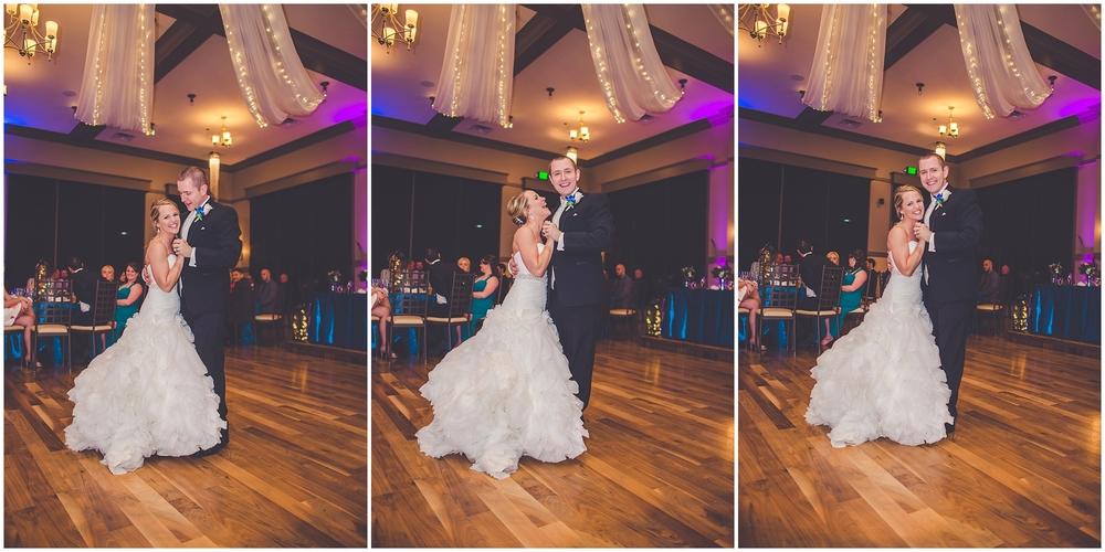 By Kara - Kara Evans - Chicago Wedding Photographer - Your First Dance as Newlyweds - Wedding Wednesday - Wedding Photographer Blogger