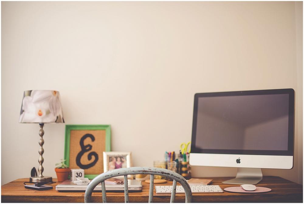 By Kara - Kara Evans - Ask Kara - Photographer Blog - A Tour of My Creative Workspace - Photographer Workspace Inspiration