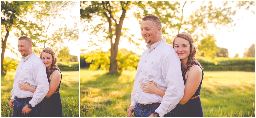 By Kara - Kara Evans - Central Illinois Natural Light Photographer - Champaign, IL Couples Session - Summer Couples Session - Summer Engagement - Parkland College Photo Session