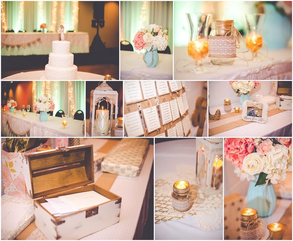 By Kara - Kara Evans - Ottawa Illinois Wedding Photographer - Ottawa Illinois Wedding - Summer Succulent Wedding Bouquet - Mint Green Wedding Inspiration