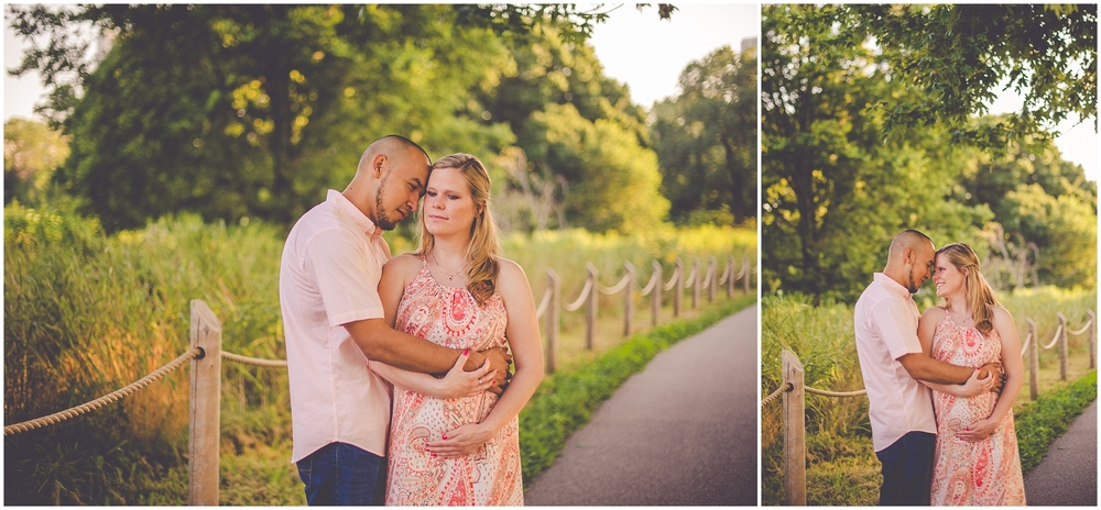 By Kara - Kara Evans - Chicago Illinois Maternity Session - Summer Beach Maternity Session - Montrose Beach Photographer - North Avenue Beach Chicago Photographer