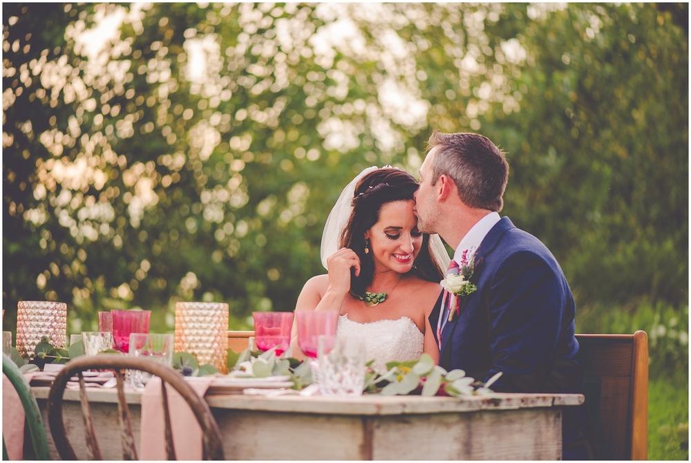 By Kara - Kara Evans - Bradley Bourbonnais Tuesdays Together - Styled Shoot - Rustic Floral Boho Wedding Styled Shoot - Bradley Bourbonnais IL Wedding Vendors - Summer Floral Boho Styled Shoot - Floral Boho Wedding Couple