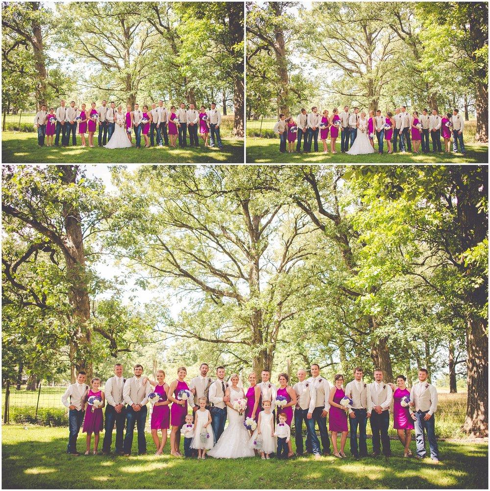 By Kara - Kara Evans - July Rustic Wedding - Rustic Farm Wedding - Iroquois County Fairgrounds Wedding - Summertime Farm Wedding