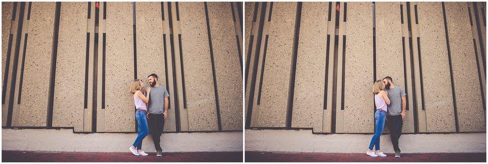 By Kara - Kara Evans - Chicago Engagement Photographer - Wrigleyville Engagement Session - Chicago Wrigley Engagement Pictures - Summer Downtown Chicago Engagement Photos